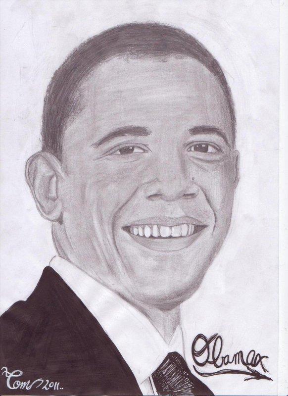 portrait de Obama