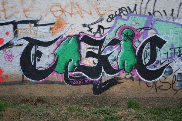 graffiti su mur