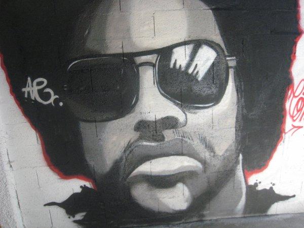 mon 1er portrait sur mur