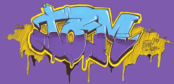 dessin graffiti