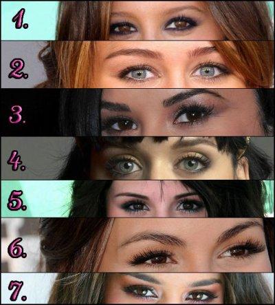 A qui appartiennent ces yeux ??