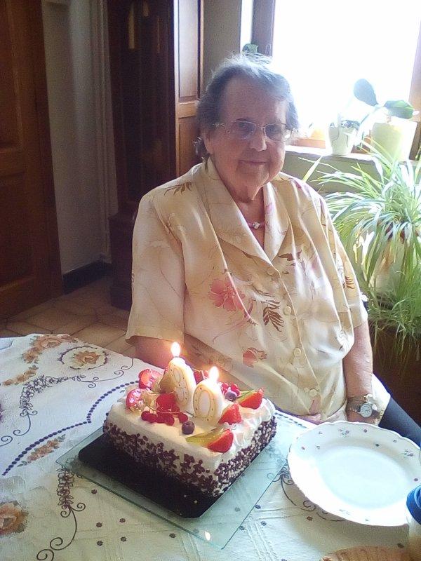 90 ans de ma petite Mémère