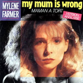 Pochette du single - My mum is wrong
