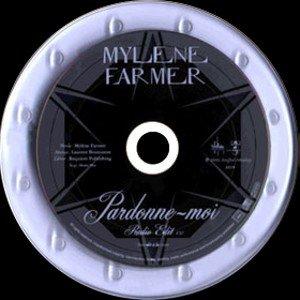 """Voici le collector - Pardonne-moi contenant un promo Luxe dit """"Verre"""" avec une boîte en carton (format cd) contenant le cd promo monotitre placé entre deux plaques de verre/. Sur l'une est gravée """"Mylène Farmer - Pardonne-moi"""", sur l'autre la photo du single."""