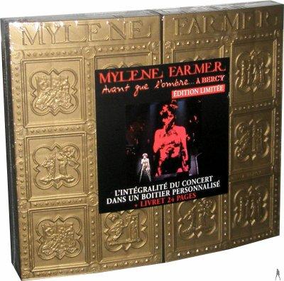 """DVD et CD collector du concert """"Avant Que L'Ombre...à Berçy 2006"""""""