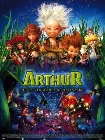 Arthur et la vengeance de Maltazard -  L'affiche