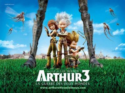 Arthur et la guerre des deux mondes - L'affiche
