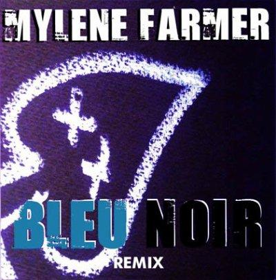 Pochette des remixes - Bleu Noir