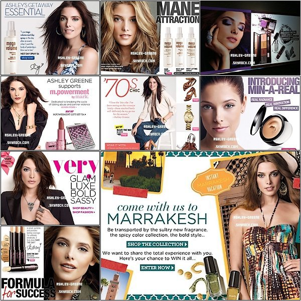 • DIVERS - Découvrez divers article de presse cosmétique où apparaît Ash'