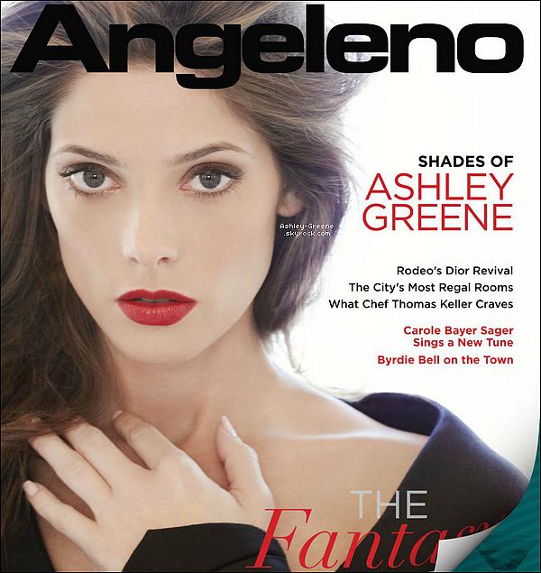 • SHOOT - Découvrez Ash' pour le magazine Riviera San Diego du mois d'octobre