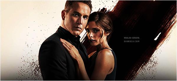 """• MOVIE - Découvrez la première photo promo de la série """"Rogue"""" où Ashley joue Mia Rochlan"""