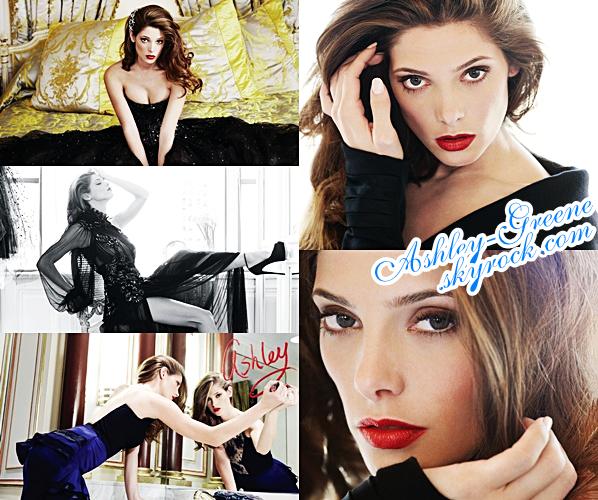 (Re) Découvre un photoshoot d'Ashleydatant de 2012 pour le magasine Modern Luxury