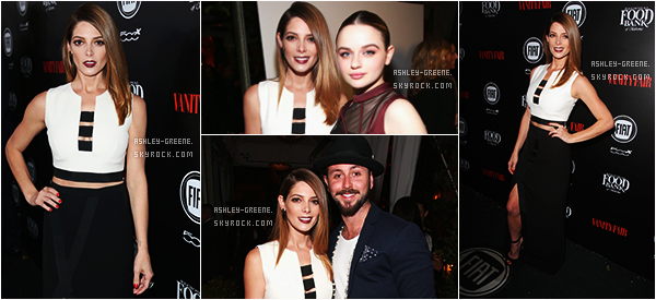 • EVENT - Le 23/02/16 Ashley était au Vanity Fair And FIAT Toast To 'Young Hollywood'