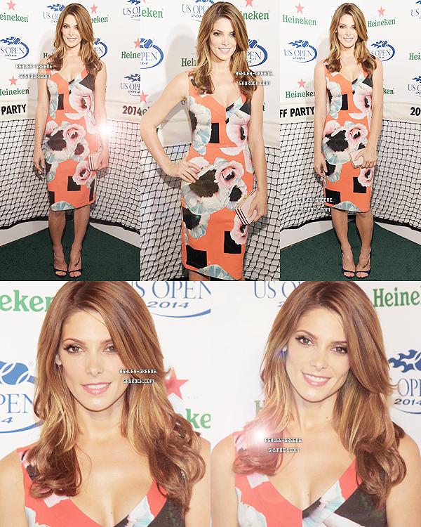 • EVENT - Le 21/08/14, Ash était à une soirée par Heineken avec Nikki Reed