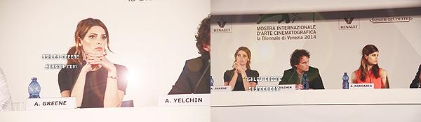 • EVENT - Le 4/09/14 Ash' était au Festival d'Italie pour sont film au côté d'Alexandra Daddario
