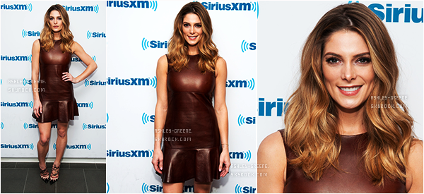 • EVENT - Le 6/04/16, Ashley était au SiriusXM Studios NYC