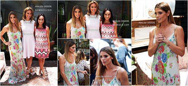 • EVENT - Le 7/07/16, Ashley a participé auEmpoweress Luncheon held at Estrella (L.A.)