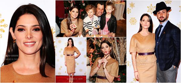 • EVENT -Le 3/12/16, Ashley et son boyfriend étaient au Brooks Brothers Celebrates the Holidays with St. Jude Children's Research Hospital