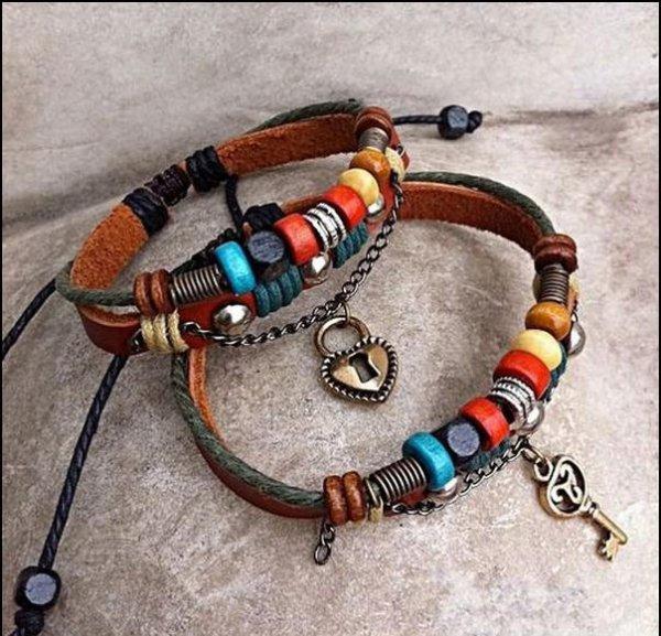 Je veux ces bracelets <3