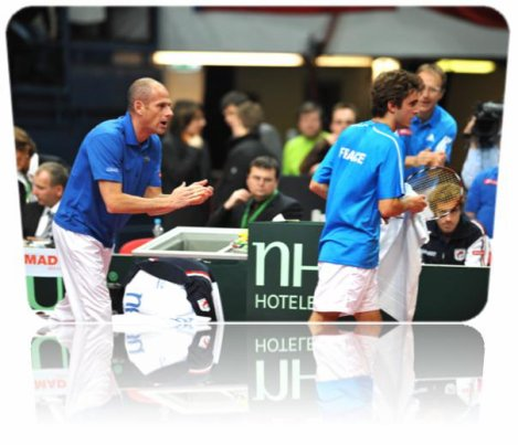 Coupe Davis 2011 - 1er tour: France vs Autriche