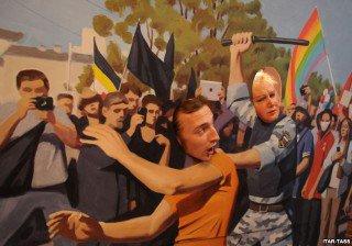 Voir Poutine en peinture Par Alain Korkos rubrique en accès libre 'à condition de le signaler'