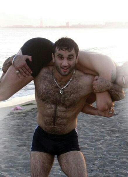 Une personne voulais des poils grizzly