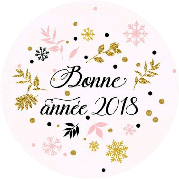 Je vous souhaite une bonne et heureuse année 2018