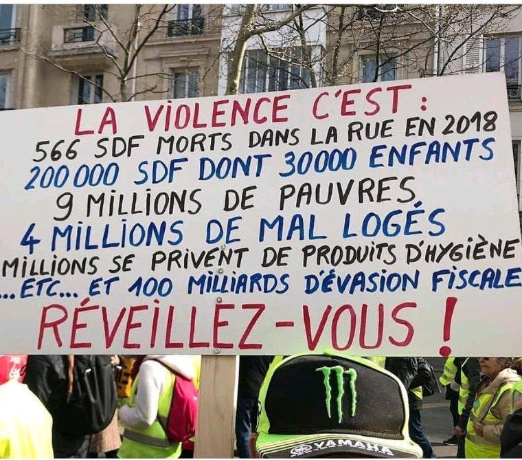 La violence dont nous n'avons plus honte #giletsjaunes