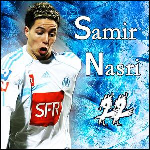 Samir Nasri Une Vrais Légende De L'Olympique De Marseille . =D