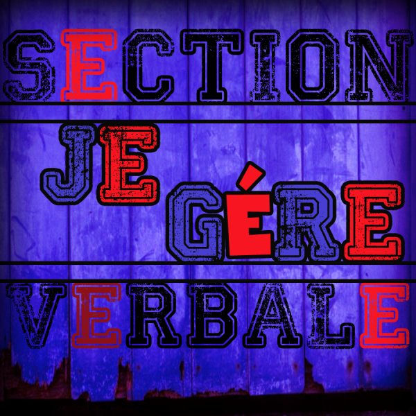 Section Verbale / New2013!! Je gère  (2013)