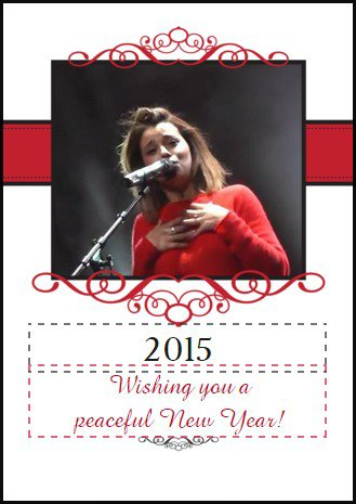 Meilleurs V½ux pour 2015 !