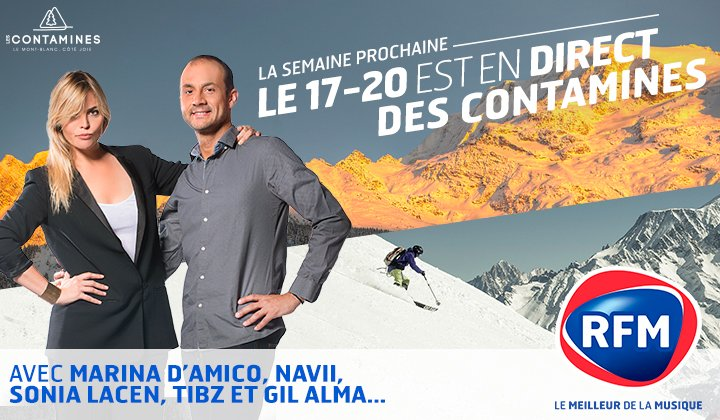 Evènement - Le 17/20 en direct des contamines