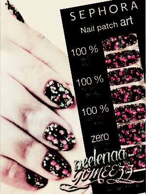 Les Nail Patch art ou auto-collant.♥
