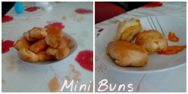 Minis Buns (Tomate Mozzarella jambon basilic)