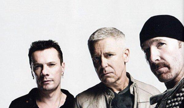 The Edge, Larry, Clayton