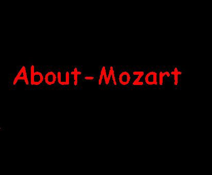 About Mozart