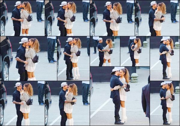 - 01/05/14 :  Avec Jai Brooks, Ariana G. a été aperçue lorsqu'elle quittait les iHeart Radio Music Awards - (à LA).   Après avoir performé son single Problem lors de la cérémonie, Ariana s'affiche au bras de Jai, ce qui confirme que le couple est de retour -