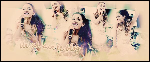 - __ Happy one year on Grande-Ariana ! ______ ♦♦♦    En ce 20 mai - la web-miss fête ses un an d'activité sur ce blog. En espérant être l'une des sources les plus complètes à laquelle vous serez fidèles. -