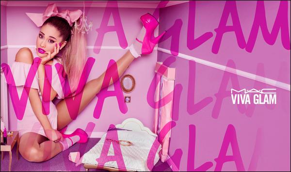 •Découvrez la publicité d'Ariana Grandepour sa collection« Viva Glam M.A.C », un gros top!