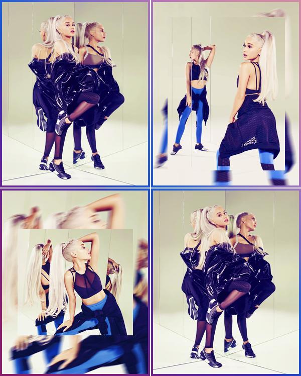 •Des nouvelles photos d'Ariana Grandepour la collection :« Reebok's #AlwaysClassic »!