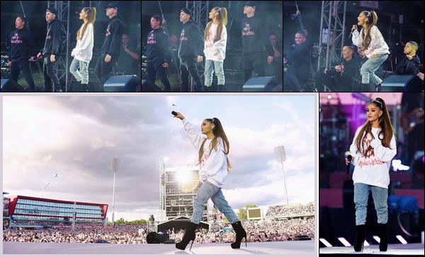 """- """"─-04/06/17-•""""Le concert de charité en hommage aux victimes : « One Love Manchester » dans Manchester ! C'est 9.000.000$ récoltés lors du concert pour les victimes et leurs familles. Un concert prouvant que l'amour est plus fort que la haine. -"""