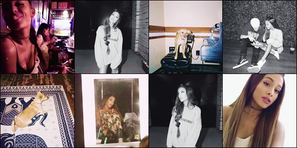 •Découvrez les dernières photos d'Ariana Grandesur son compte personnel sur Instagram!