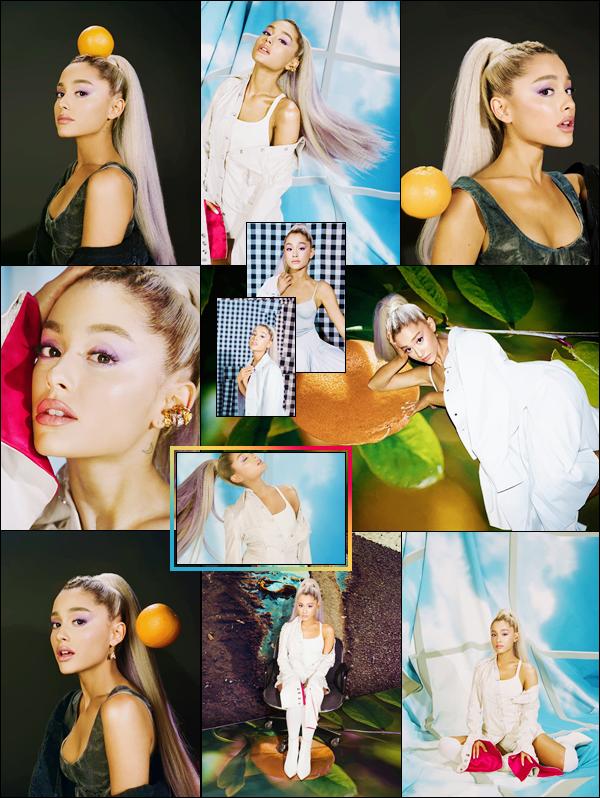 • Ariana Grandefait la couverture du magazine « The Fader » à l'occasion de l'édition été '18 !