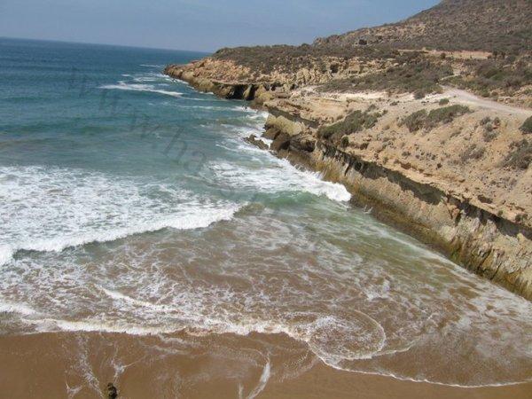 la pluus belle plage ou nord d'agadiir et que j'aime bcp !!!