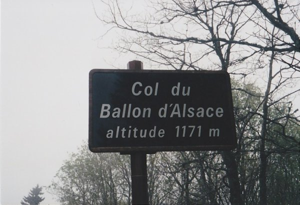 À l'Ascension du Ballon d'Alsace