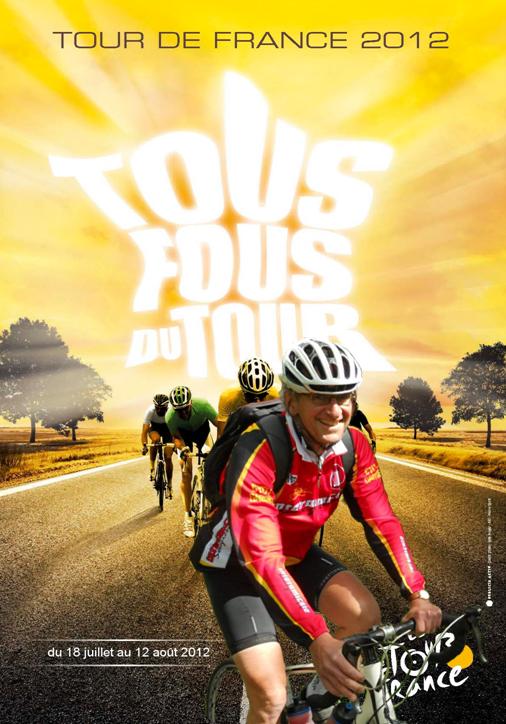 Affiche pour le Tour