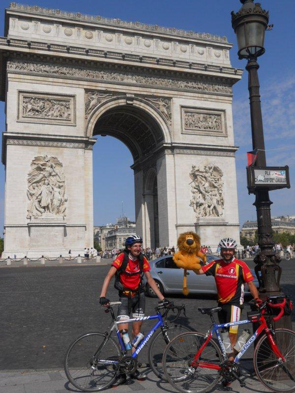 Tour de France 2012, étape 21 : Rambouillet – Paris Champs-Élysées, l'arrivée sur les Champs