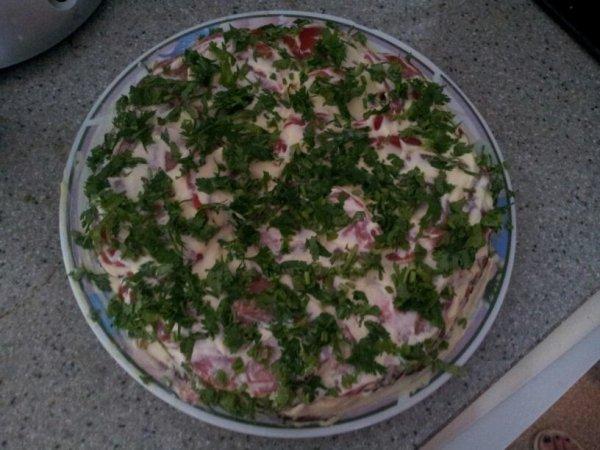 Tarte aux aubergines et tomates miam:)
