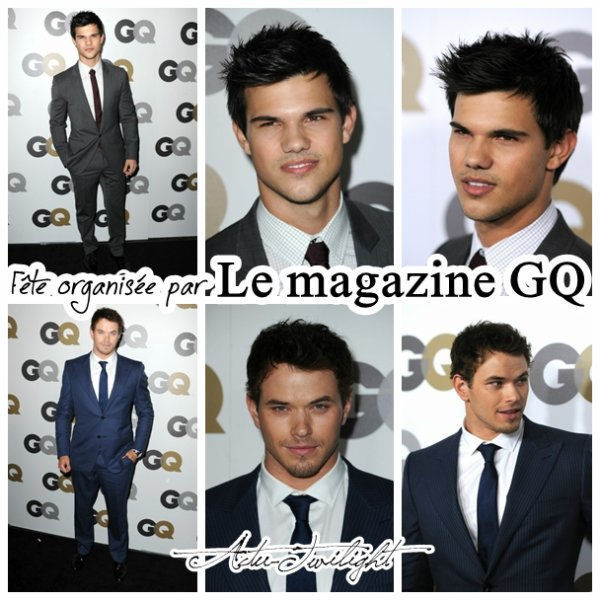 GQ Party et Photos Tournage !