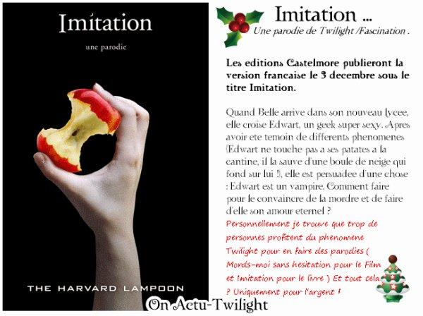 Imitation .. Plus qu'une imitation  !